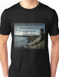 Quote from the Kiss of Deception Unisex T-Shirt