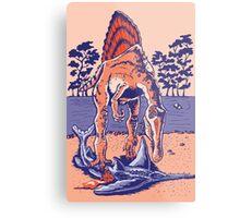 Spinosaurus the Hunter Metal Print