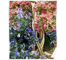 Spring in a Basket Poster