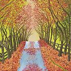 Autumn Road by Melissa  Wallace