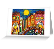 Venice Soiree Greeting Card