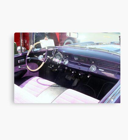 "1956 Pontiac Star Chief"" Canvas Print"