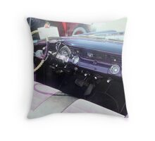 "1956 Pontiac Star Chief"" Throw Pillow"