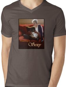Reading Is Sexy tee Mens V-Neck T-Shirt