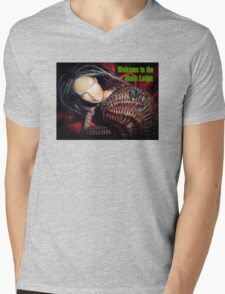 Marbie And Wicker Sqrl At The Black Lodge tee Mens V-Neck T-Shirt