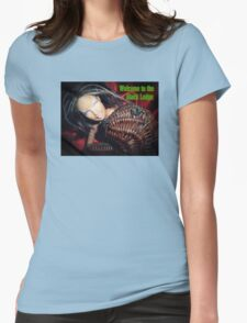 Marbie And Wicker Sqrl At The Black Lodge tee Womens Fitted T-Shirt