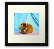 Easter Piggy Framed Print