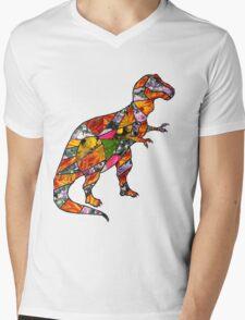 Louise Mens V-Neck T-Shirt