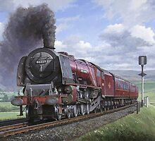 Stanier pacific by Mike Jeffries