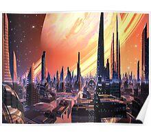 Exquisita City - Planet Calvos Poster