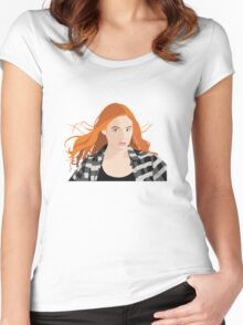 Amy Pond Women's Fitted Scoop T-Shirt