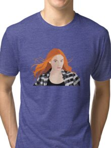 Amy Pond Tri-blend T-Shirt