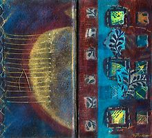 Synthesis (Artist Book - pp3&4) by Kerryn Madsen-Pietsch