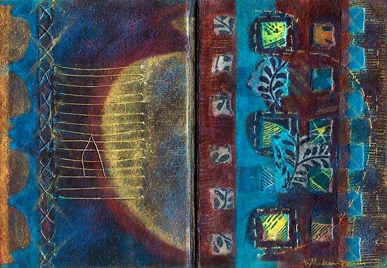 Synthesis (Artist Book - pp3&4) by Kerryn Madsen-Pietsch