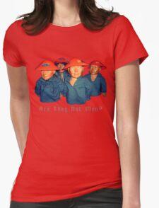 Devo Hugo tee V.1 Womens Fitted T-Shirt