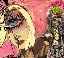 Skeletons, 2011 by Thelma Van Rensburg