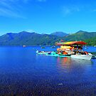Blue Lake by Daidalos