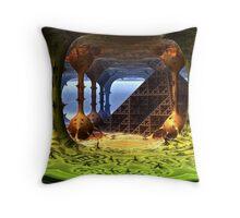 Sierpinski's Tomb Throw Pillow