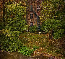 The Old Snuff Mill On The Bronx River by Chris Lord