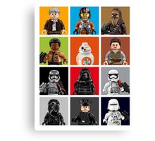 Lego The Force Awakens Canvas Print