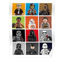Lego The Force Awakens Poster
