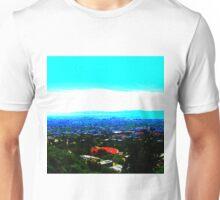 White Strip Unisex T-Shirt