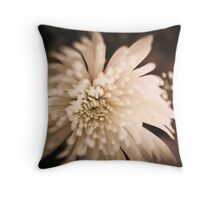 Tinted Flower Throw Pillow