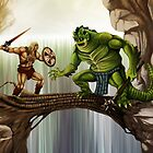 He-Man versus Whiplash by Crusader