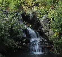 Waterfall in New York City by LaNita Adams
