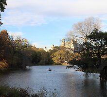 Lake in New York City by LaNita Adams