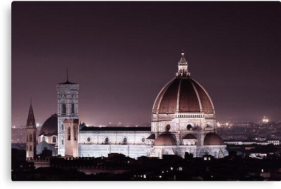 Duomo Florence at night by Sergey Martyushev