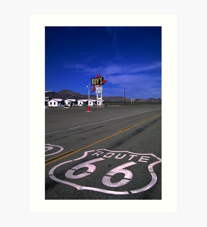 Last Chance for Gas Art Print