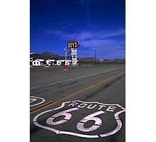 Last Chance for Gas Photographic Print