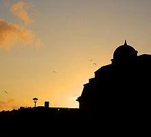 Sunset Silhouettes by Llawphotography