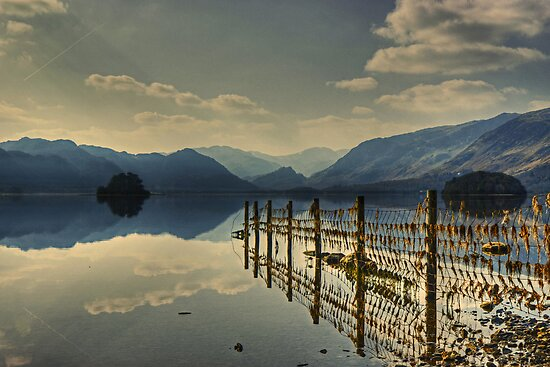 Derwentwater......Fence Reflections by VoluntaryRanger