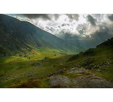 Craig Cau, Snowdonia, Wales Photographic Print