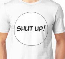 MANGA BUBBLES - SHUT UP Unisex T-Shirt
