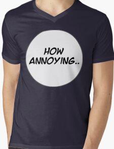 MANGA BUBBLES - HOW ANNOYING.. Mens V-Neck T-Shirt