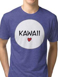 MANGA BUBBLES - KAWAII Tri-blend T-Shirt