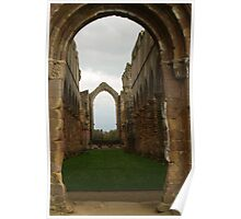 Fountains Abbey Church Poster