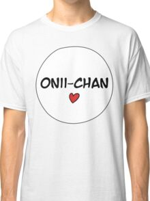 MANGA BUBBLES - ONII-CHAN Classic T-Shirt