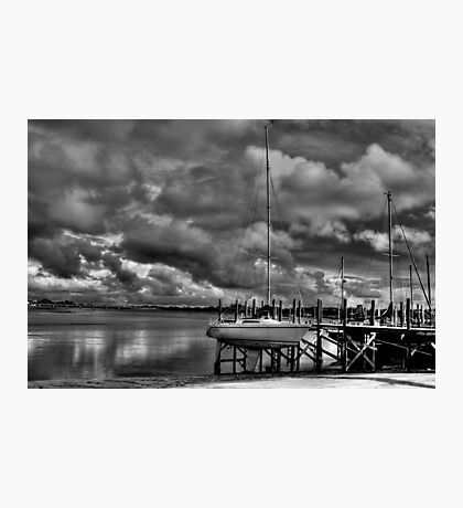 River Wyre From Skippool Creek Photographic Print