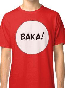 MANGA BUBBLES - BAKA! Classic T-Shirt