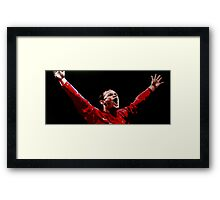 Wayne Rooney by db artstudio Framed Print