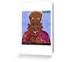 THE GLORY OF ALBERTA HUNTER Greeting Card