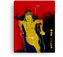 woman seaten V1 Canvas Print