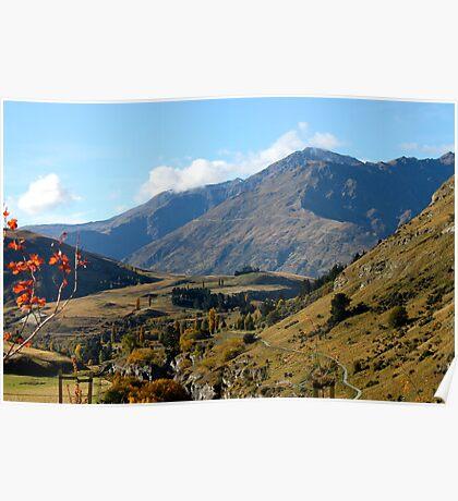 Queenstown New Zealand Poster