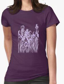 Irises, light outline T-Shirt