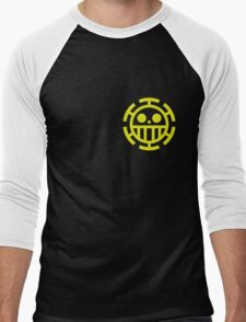 trafalgar law pirates logo Men's Baseball ¾ T-Shirt