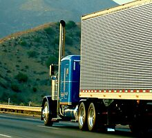 Truck snapshot - CA, USA by Barnewitz